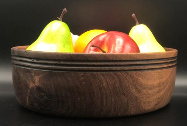 Mesquite fruit bowl
