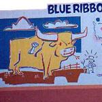 Blue Ribbon Day Mural