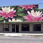 Lotus Flower Mural