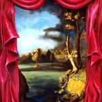 Theater Backdrop Mural