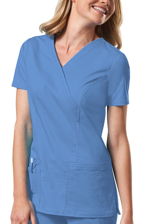 Top Scrub Pink And Teal