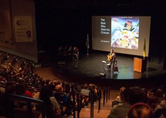 Keynote speaker, Jack Gladstone.