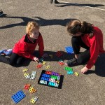 Year 5 and Reception collaborative Mathematics