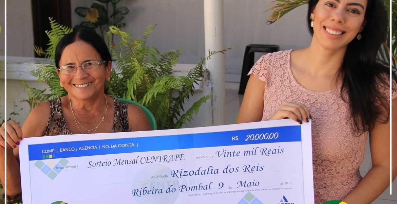 Centrape entrega R$ 20.000,00