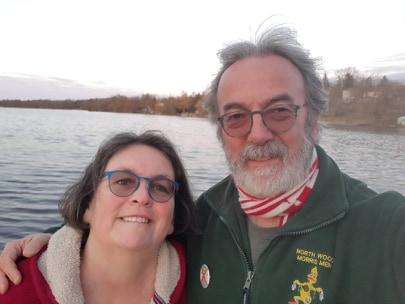 Yvonne Aburrow and Bob Houghton
