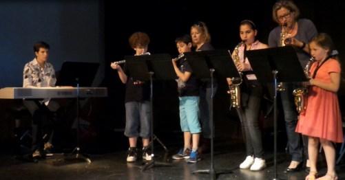 flûtes et saxos