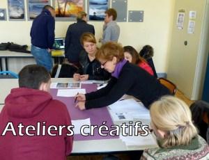 Ateliers créatifs
