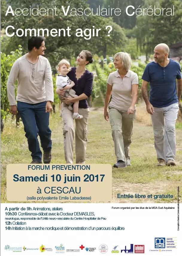 Forum Prévention Cescau