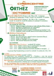 CyberCentre programme_oct