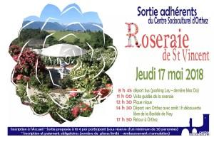 Sortie roseraie CSC