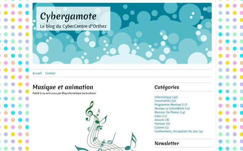 Blog Cybergamote