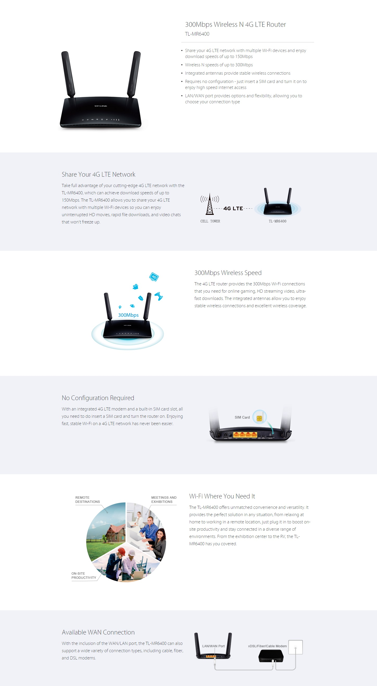 Tp Link Tl Mr 300mbps Wireless Router