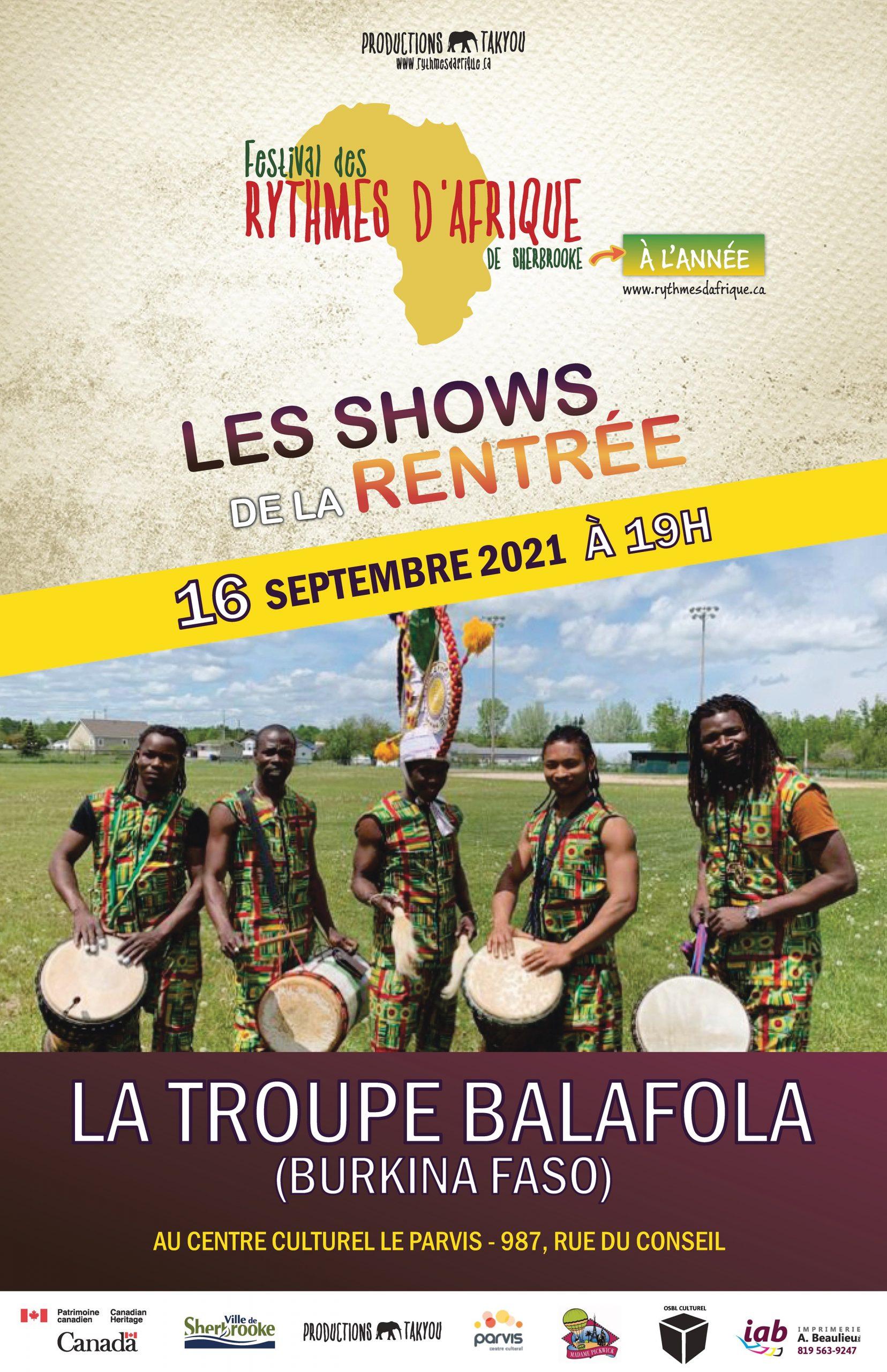 La troupe Balafola  (Burkina Faso)