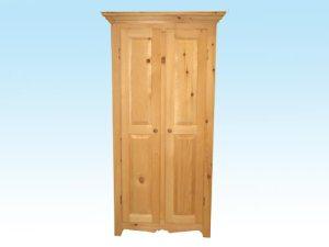 armoire de rangement en pin