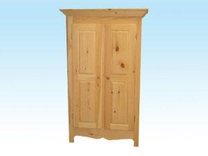 armoire rangement en pin