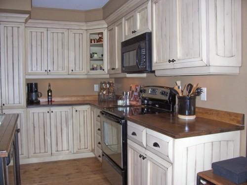 armoire cuisine bois pin