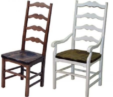 chaise de bois capucine