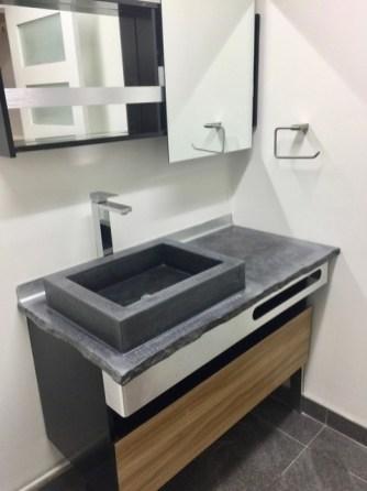 vanité beton