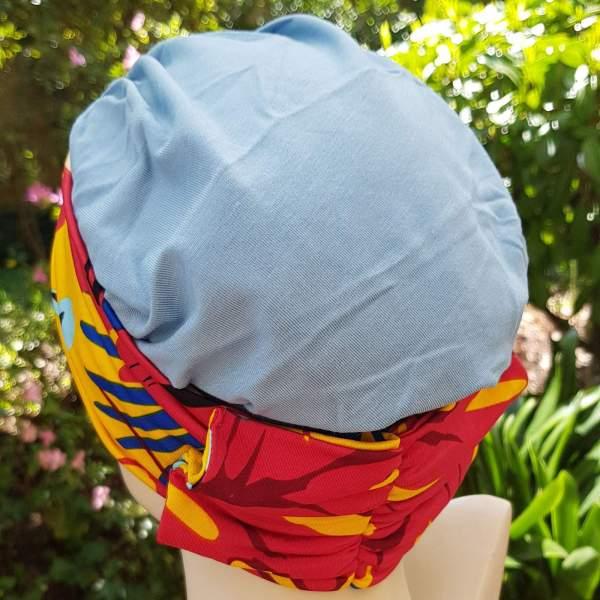 Groix de la collection Paula Legoff. Centre du Cheveu Joceli, vente en ligne de foulards, turbans, bandanas, bonnets et perruques à Nantes.