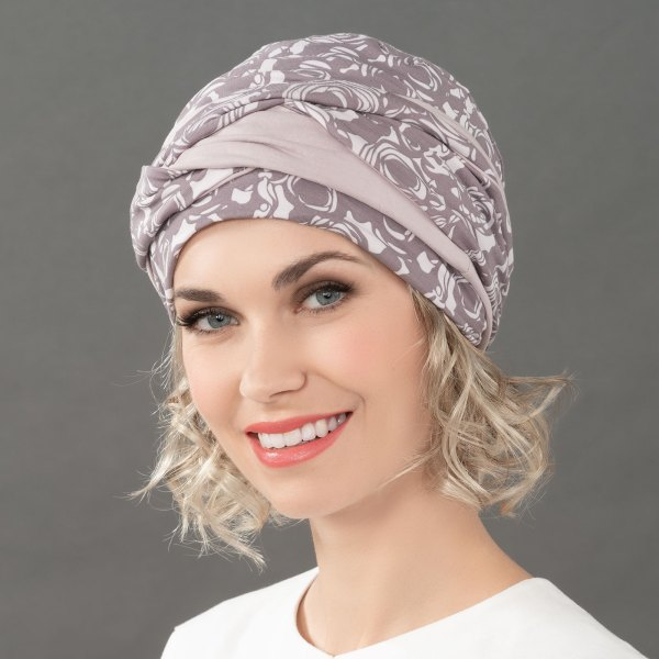 Ama - Foulard bandana chimio de la collection Ellen's Headwear.