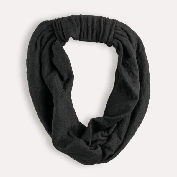 Bando - Bandeau Accessoire Joceli de la collection Ellen's Headwear. Centre du Cheveu Joceli, vente en ligne de foulards, turbans, bandanas, bonnets et perruques à Nantes. Vue de dessus