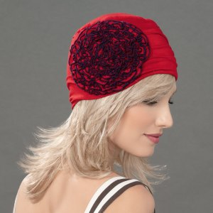 Flora - Bonnet fleur Joceli de la collection Ellen's Headwear.