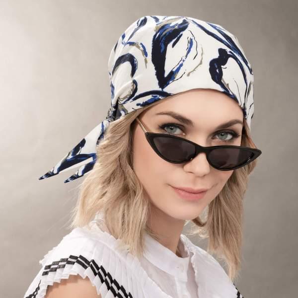 Misu - Bandeau bandana chimio de la collection Ellen's Headwear.