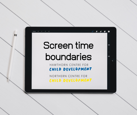 Screen time boundaries