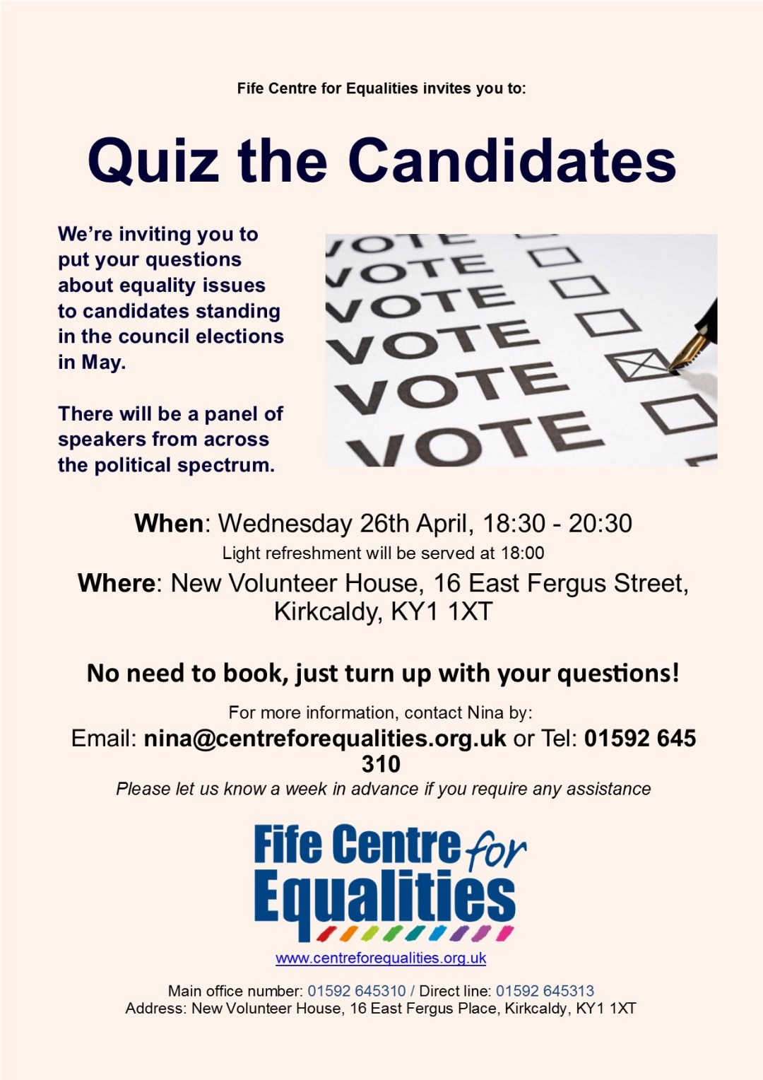 Hustings' flyer 170407