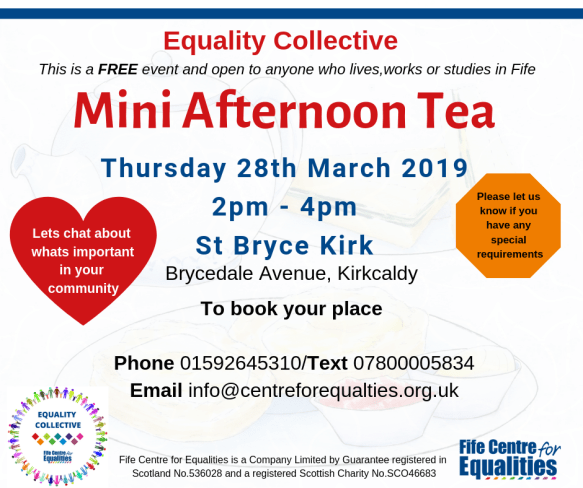 Equality Collective Mini Afternoon Tea