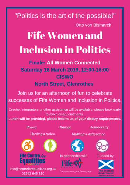 Fife Women and Inclusion in Politics