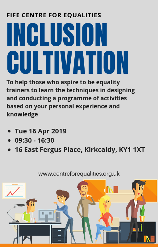 Inclusion Cultivation Training Poster