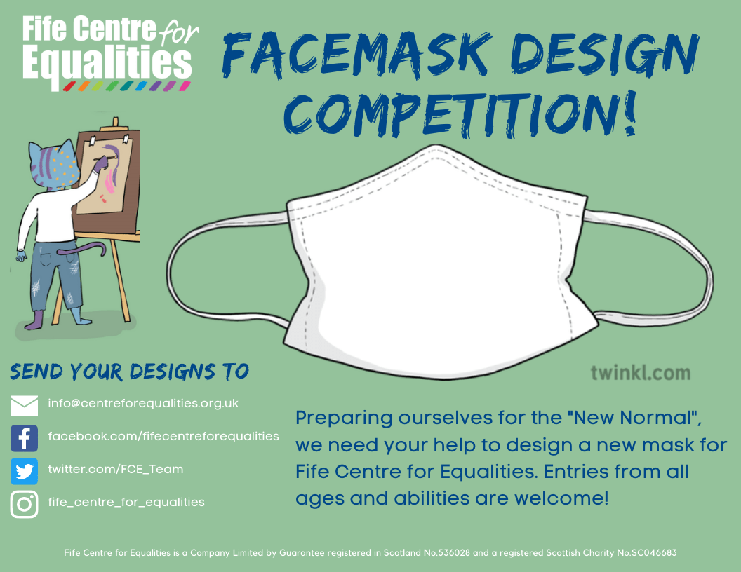 design your own mask poster