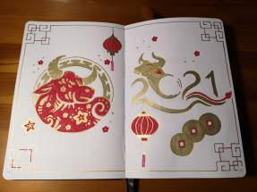 Amy Gibbs - Chinese New Year Drawings