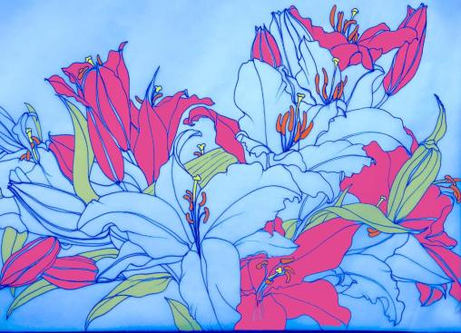 Bee Hayes - Lilies Design 1