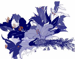 Bee Hayes - Lilies Design 2