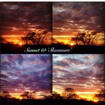 Sharmili Lama - Sunset & Sunrise Collage