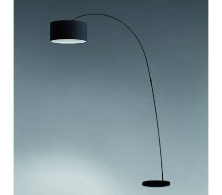 papua lampe de pied pour le salon en metal noir e27