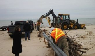 Lambton Shores staff provided council with an an update on legal considerations related to Ipperwash Beach, including those that relate to the operation of vehicles.   (Courtesy of the Lakeshore Advance)