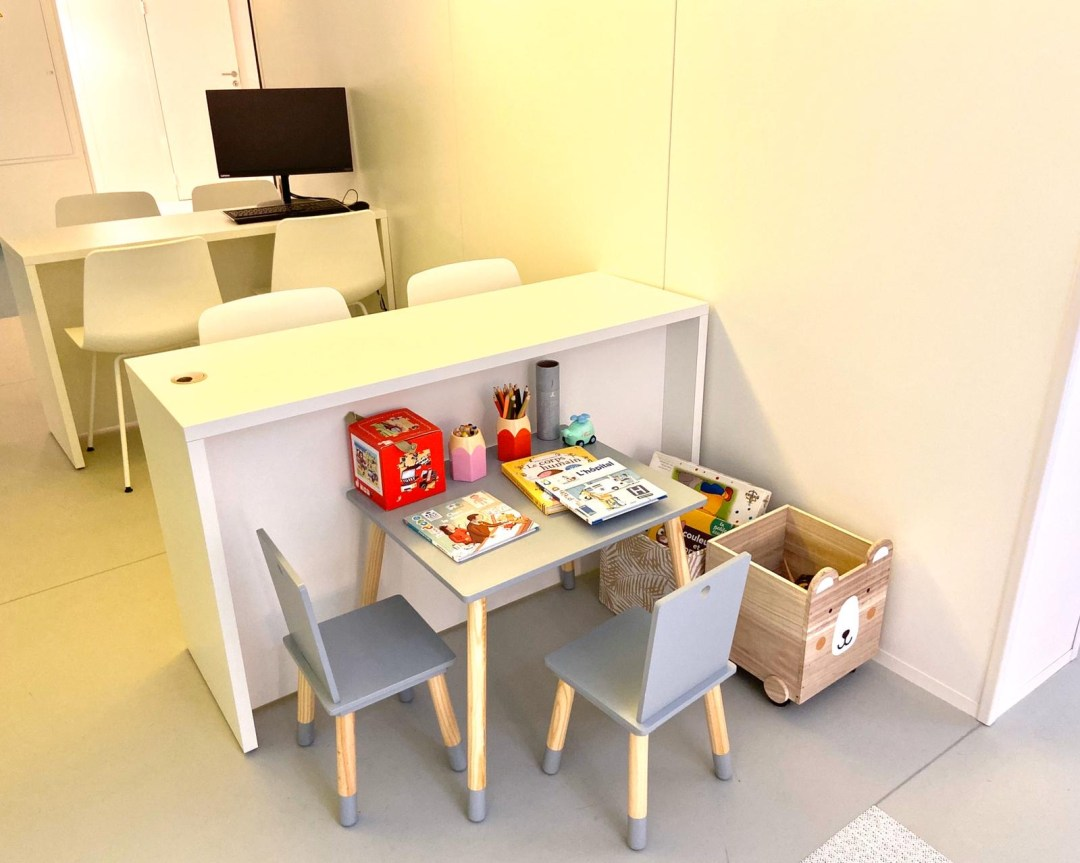 Centre Ophtalmologique Paris 17 SOS Oeil - coin enfant