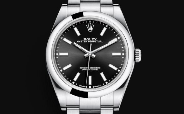 Rolex Oyster Perpetual 39 mm Black