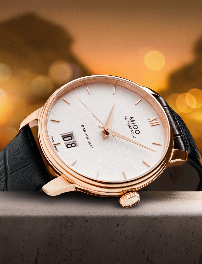 Mido Baroncelli III Big Date launched – 'Big Date' theme joins Baroncelli collection with seven new variants