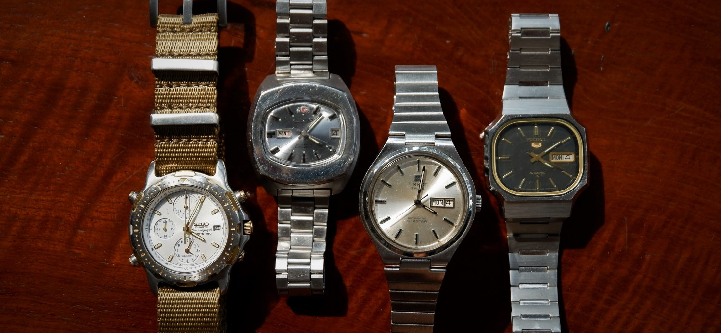 TICK-TALKING: Why I'll NEVER sell my vintage watches