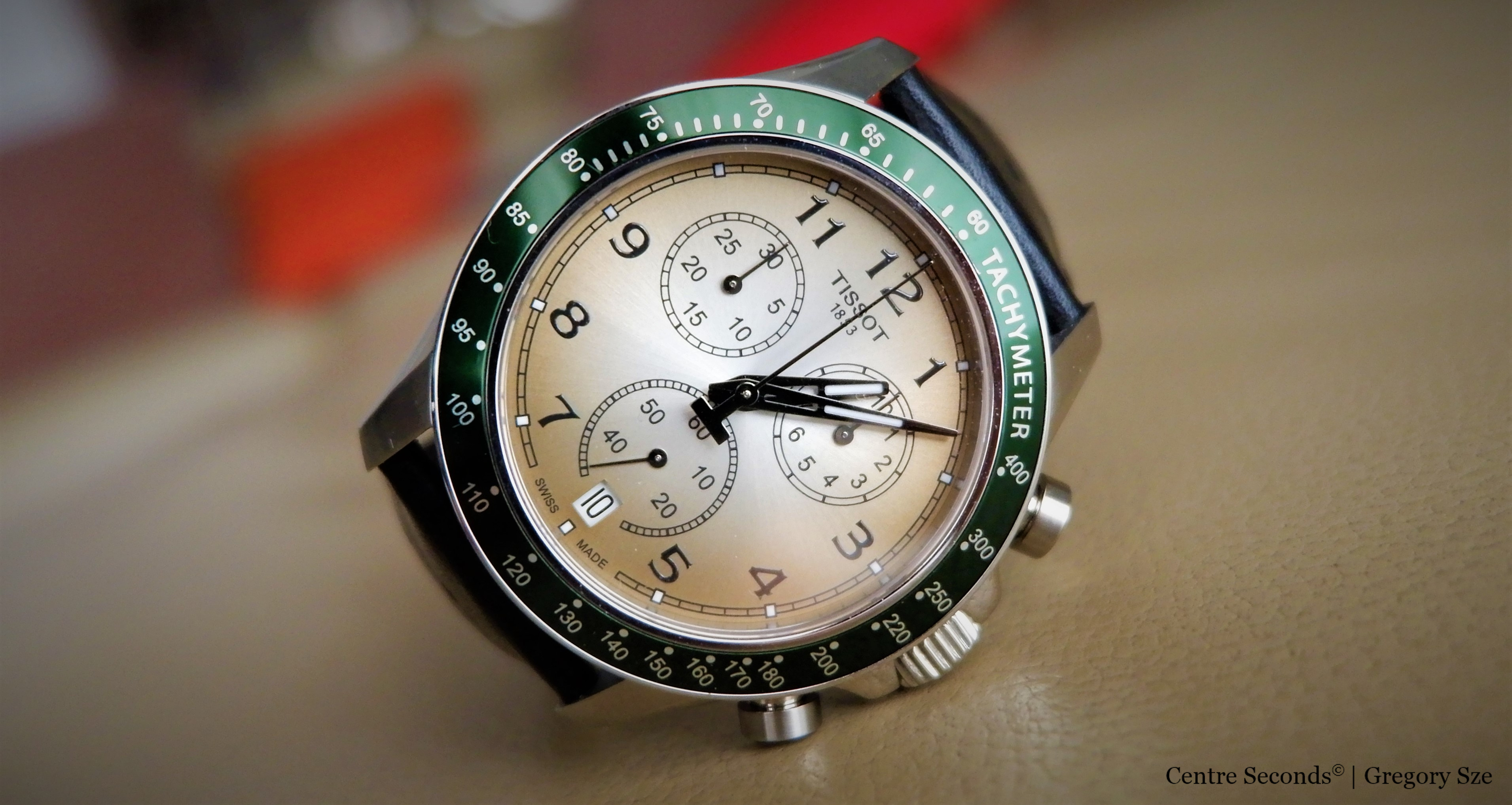 Review Tissot V8 Quartz Chronograph Centre Seconds