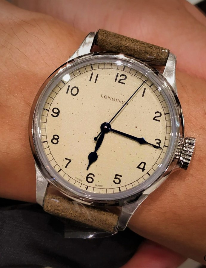 QUICKIE: Longines Heritage Military