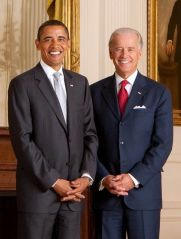 President Barack Obama and Vice President Jose...