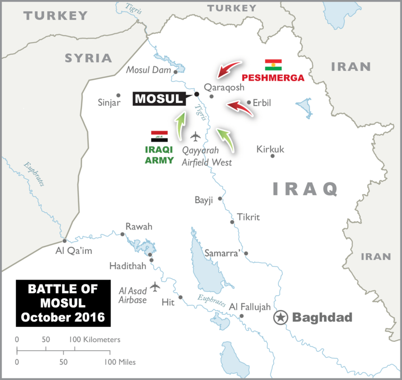 Taken from Wikimandia (based on Department of Defense map of Iraq)