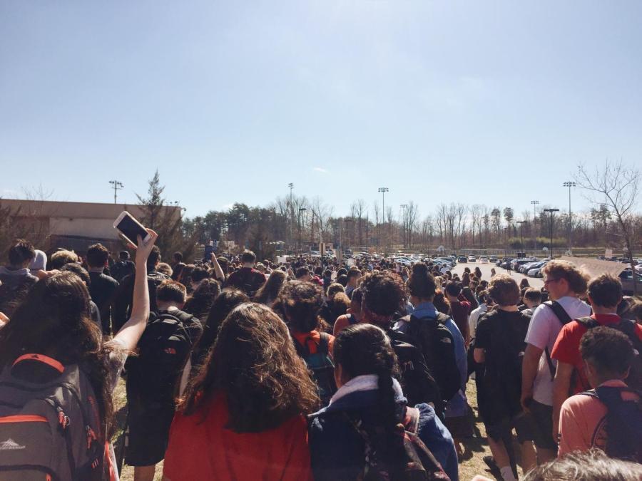 CVHS+Student+Organized+Gun+Control+Walkout