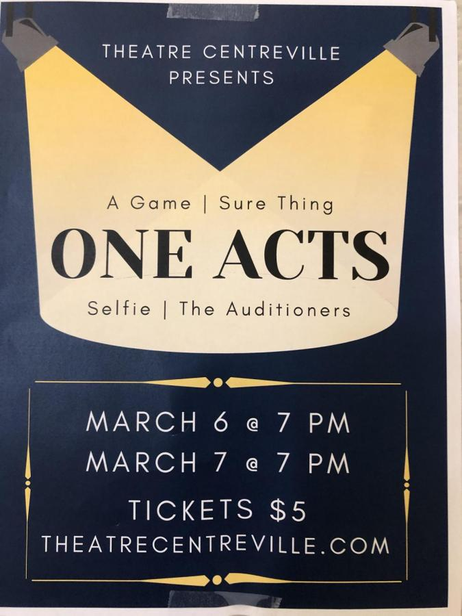 Theatre Centreville's One Acts
