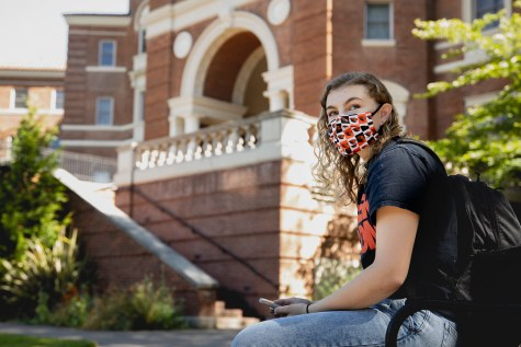 """Oregon State University COVID-19 face covering"" by Oregon State University is licensed with CC BY-SA 2.0. To view a copy of this license, visit https://creativecommons.org/licenses/by-sa/2.0/"